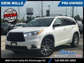 Used 2016 Toyota Highlander XLE  SUNROOF|NAVI|3RD ROW|LOADED for sale in Mississauga, ON