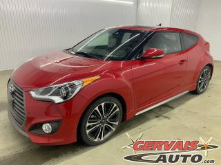 Used 2016 Hyundai Veloster Turbo GPS Cuir Toit Panoramique MAGS Bluetooth *Bas Kilométrage* for sale in Trois-Rivières, QC