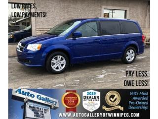 Used 2018 Dodge Grand Caravan Crew Plus *Htd Lthr/Navi/B.tooth/Power Doors for sale in Winnipeg, MB
