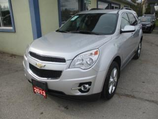Used 2013 Chevrolet Equinox ALL-WHEEL DRIVE 1-LT EDITION 5 PASSENGER 3.6L - V6.. HEATED SEATS.. BACK-UP CAMERA.. BLUETOOTH.. TOUCH SCREEN DISPLAY.. for sale in Bradford, ON
