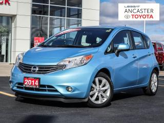 Used 2014 Nissan Versa Note SL - NAVI|360 BACKUP CAMERA|BLUETOOTH|HEATED SEATS for sale in Ancaster, ON
