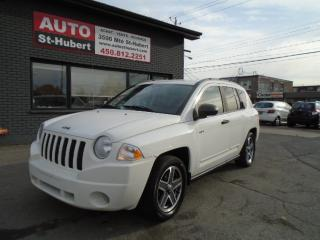 Used 2008 Jeep Compass NOTRH 4X4 for sale in St-Hubert, QC