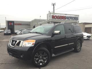 Used 2015 Nissan Armada PLATINUM 4WD - NAVI - DVD - 7 PASS - RESERVE for sale in Oakville, ON