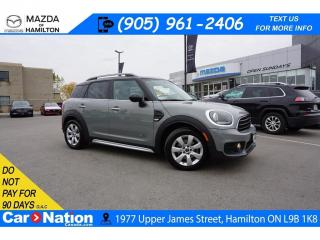 Used 2019 MINI Cooper Countryman Cooper ALL4 | AWD | LEATHER | SUNROOF | REAR CAM for sale in Hamilton, ON