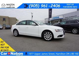 Used 2013 Audi A4 QUATTRO | LEATHER | SUNROOF | XM RADIO for sale in Hamilton, ON
