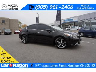 Used 2017 Kia Forte EX LUXURY| LEATHER | SUNROOF | REAR CAM | XM RADIO for sale in Hamilton, ON