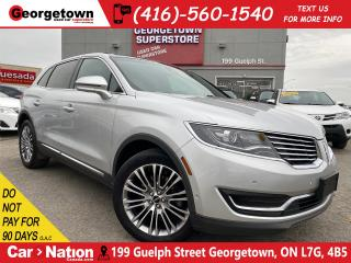 Used 2016 Lincoln MKX Reserve | NAVI | 360 CAM | PANO ROOF | AWD | for sale in Georgetown, ON