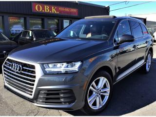 Used 2017 Audi Q7 QUATTRO-NAVIGATION-TOIT PANO-7 PASSAGERS-CAM 360 for sale in Laval, QC