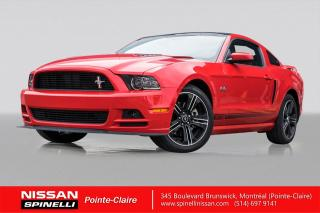 Used 2014 Ford Mustang GT CALIFORNIA SPECIAL GT CALIFORNIA SPECIAL 1 DE 100 / NAVIGATION / TOIT PANORAMIQUE / 420HP - V8 / CUIR for sale in Montréal, QC