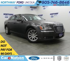 Used 2014 Chrysler 300 Touring | LEATHER | NAVI | REAR CAMERA for sale in Brantford, ON