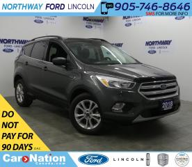 Used 2018 Ford Escape SE | REAR CAMERA for sale in Brantford, ON