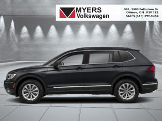 New 2019 Volkswagen Tiguan Trendline 4MOTION  -  Bluetooth for sale in Kanata, ON