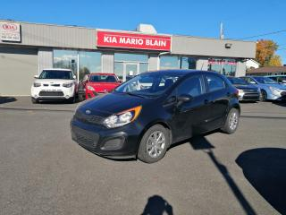 Used 2014 Kia Rio LX+ for sale in Mcmasterville, QC