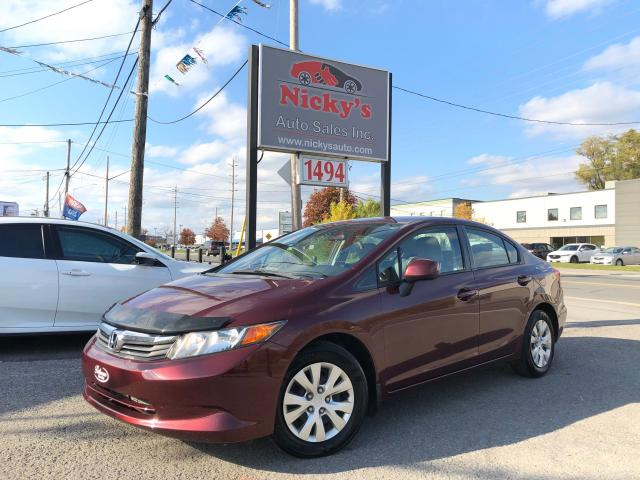 2012 Honda Civic LX - AUTOMATIC - ONLY 56,000KM! LOADED!