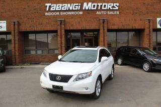 Used 2010 Lexus RX 350 NAVIGATION I NO ACCIDENTS | LEATHER I SUNROOF I REAR CAM I for sale in Mississauga, ON