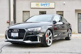 Used 2018 Audi RS 3 QUATTRO BANG AND OLUFSEN, NAVIGATION, ONE OWNER, ACCIDENT FREE for sale in Burlington, ON
