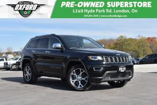 Used 2019 Jeep Grand Cherokee Limited 4x4 - Roof Rack, Sunroof, Backup for sale in London, ON