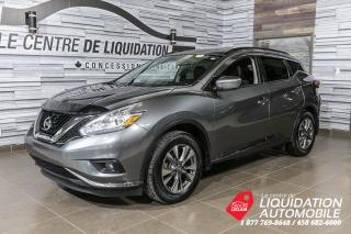 Used 2016 Nissan Murano SV+AWD+NAVI+TOIT PANO for sale in Laval, QC