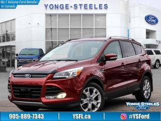 Used 2016 Ford Escape Titanium for sale in Thornhill, ON