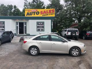 Used 2013 Chevrolet Cruze LS for sale in Ottawa, ON