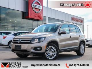 Used 2015 Volkswagen Tiguan TRENDLINE  - Keyless Start - $130 B/W for sale in Kanata, ON