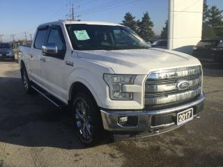 Used 2017 Ford F-150 Lariat | 4X4 | Remote Start for sale in Harriston, ON