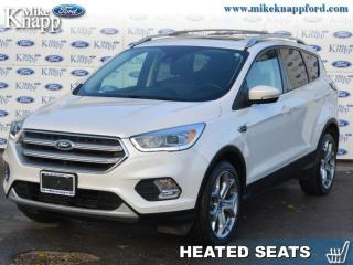 Used 2017 Ford Escape Titanium  - Leather Seats -  Bluetooth for sale in Welland, ON