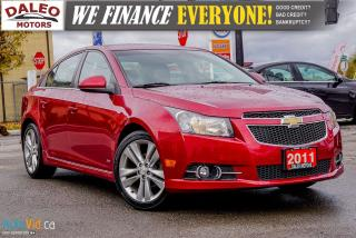 Used 2011 Chevrolet Cruze LT Turbo | RS MODEL | BLUETOOTH for sale in Hamilton, ON