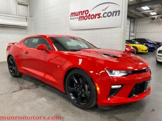 Used 2017 Chevrolet Camaro 2dr Cpe 2SS RS Sunroof NAV NPP 6 spd leather for sale in St. George Brant, ON