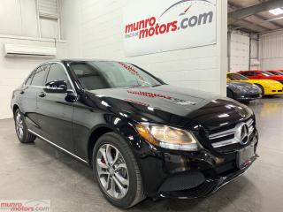 Used 2015 Mercedes-Benz C-Class 4dr Sdn C 300 4MATIC NAV Bluetooth BackupCam Pano for sale in St. George Brant, ON
