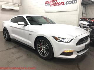 Used 2016 Ford Mustang Coupe Fastback GT Leather 6 Speed, Exhaust, Clean for sale in St. George Brant, ON