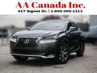 Used 2016 Lexus NX NX200T F-SPORT for sale in Toronto, ON