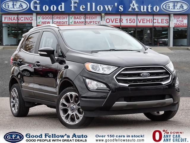 2018 Ford EcoSport TITANIUM, LEATHER SEATS, NAVIGATION, SUNROOF, 4WD