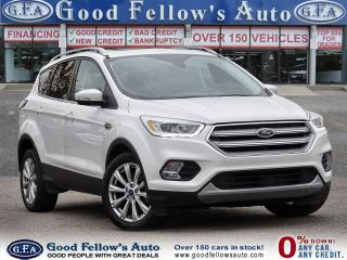 Used 2017 Ford Escape TITANIUM, 2.0L 4CYL, 4WD, REARVIEW CAMERA, NAVI for sale in Toronto, ON