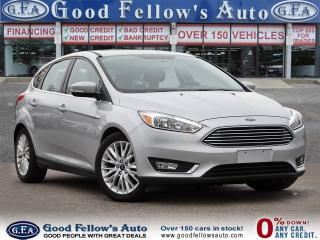 Used 2018 Ford Focus TITANIUM, LEATHER SEATS, SUNROOF, REARVIEW CAMERA for sale in Toronto, ON