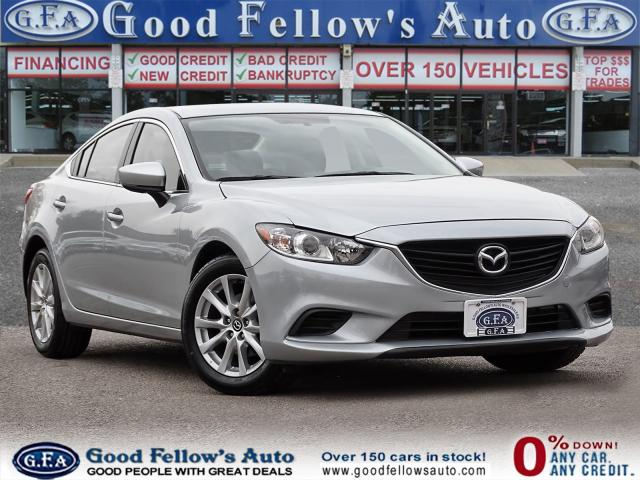2017 Mazda MAZDA6 GX MODEL, REARVIEW CAMERA, HEATED SEATS