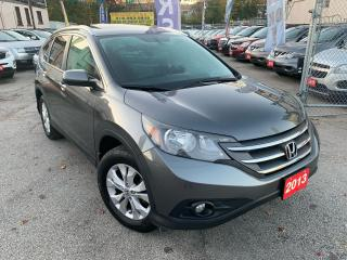 Used 2013 Honda CR-V Touring/Navi/Back-up/Leather/Sunroof/loaded for sale in Scarborough, ON
