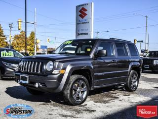 Used 2015 Jeep Patriot High Altitude 4x4 ~Nav ~Heated Leather ~Moonroof for sale in Barrie, ON