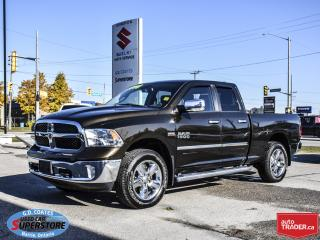 Used 2013 RAM 1500 Big Horn Crew Cab 4x4 ~Heated Leather ~Backup Cam for sale in Barrie, ON