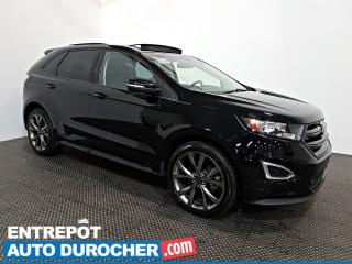 Used 2017 Ford Edge Sport AWD NAVIGATION - Toit Ouvrant - A/C - Cuir for sale in Laval, QC