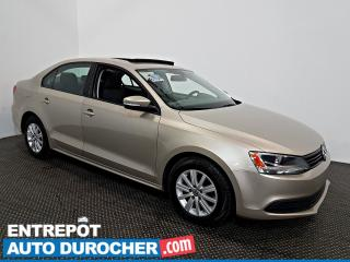 Used 2013 Volkswagen Jetta Sedan Comfortline Toit Ouvrant - A/C - Sièges Chauffants for sale in Laval, QC