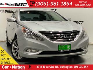 Used 2011 Hyundai Sonata 2.0T Limited| LOCAL TRADE| LEATHER| SUNROOF| for sale in Burlington, ON