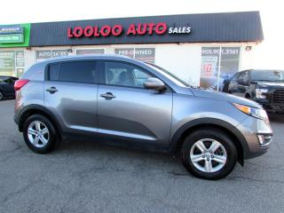 Used 2014 Kia Sportage LX NO ACCIDENT AUTO BLUETOOTH CERTIFIED for sale in Milton, ON