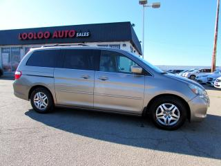 Used 2007 Honda Odyssey EX-L LEATHER POWER SLIDING DOOR SUNROOF for sale in Milton, ON