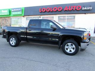 Used 2015 Chevrolet Silverado 1500 LT Z71 Double Cab 4WD 5.3L LEATHER CAMERA BLUETOOTH CERTIFIED for sale in Milton, ON