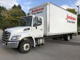 2017 Hino 258 258-24' van body with ramp