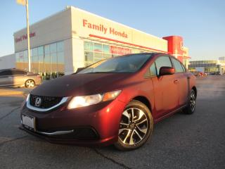 Used 2015 Honda Civic EX   4 NEW TIRES   ALL NEW BRAKES!   ECO MODE&MORE for sale in Brampton, ON