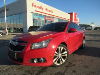 Used 2012 Chevrolet Cruze LT Turbo | SUNROOF | FREE TIRES | for sale in Brampton, ON