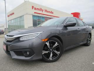 Used 2016 Honda Civic TOURING | FREE WARRANTY AND WINTER TIRES!! WOW! for sale in Brampton, ON