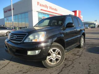 Used 2006 Lexus GX 470 REAR ENTERTAINMENT | HEATED SEATS | NAVI | FULLY L for sale in Brampton, ON
